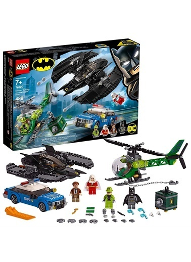 Lego LEGO Super Heroes Batman Batwing ve Riddlerın Soygunu Renkli